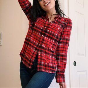 L.L. Bean Classic Red Flannel